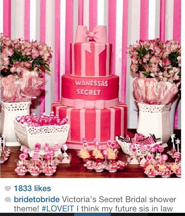 Victoria's Secret Bridal Shower