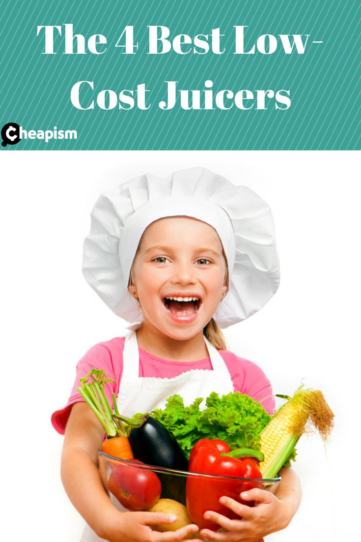 Juicing makes it easy to get your fruits and veggies, try out one of these four cheap juicers.