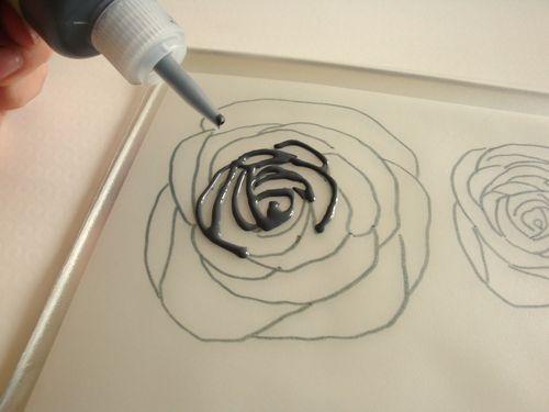 Les 25 meilleures id es concernant comment dessiner une - Dessiner une rose facile ...