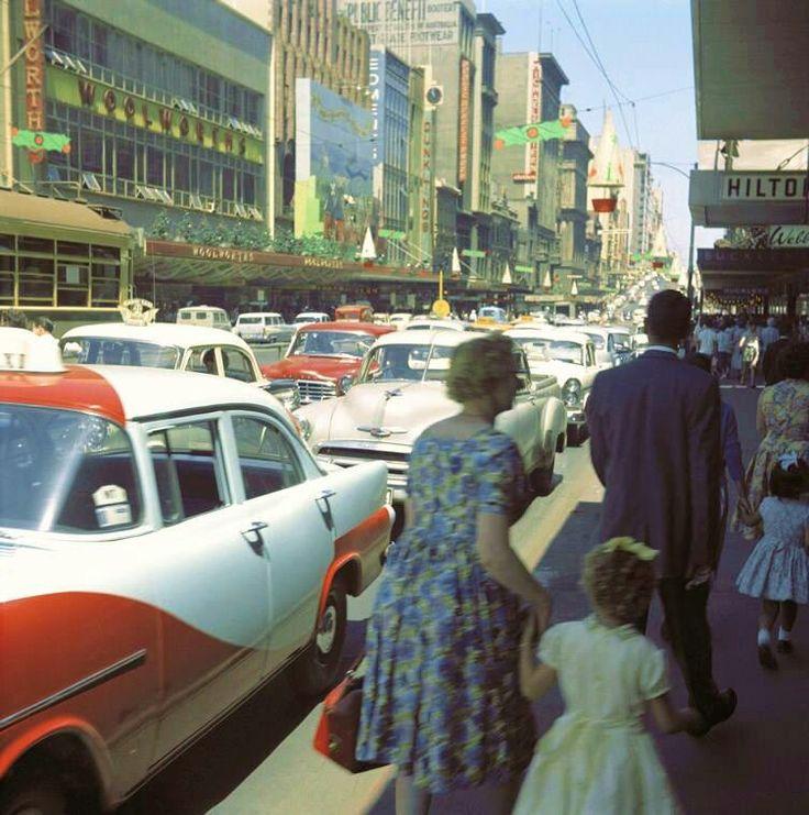1960s Bourke st Melbourne