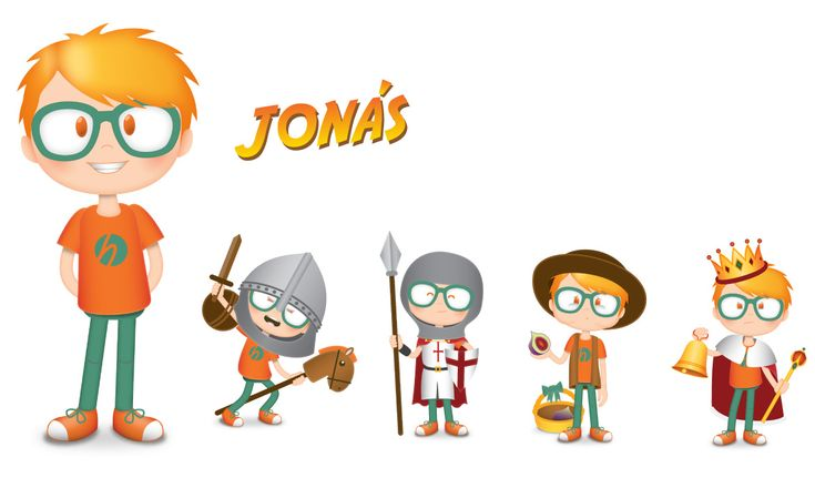 Character included in the #tourism #game #app 'The adventures of Diana & Jonas'. The goal: enjoy in #family learning about the visited area.