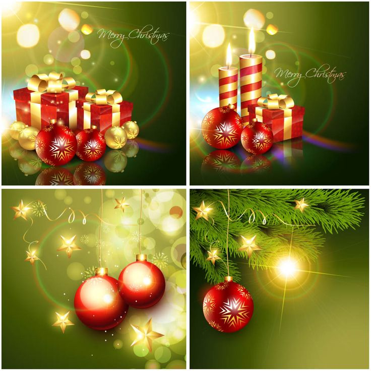 Green Christmas background vector 182 best Christmas