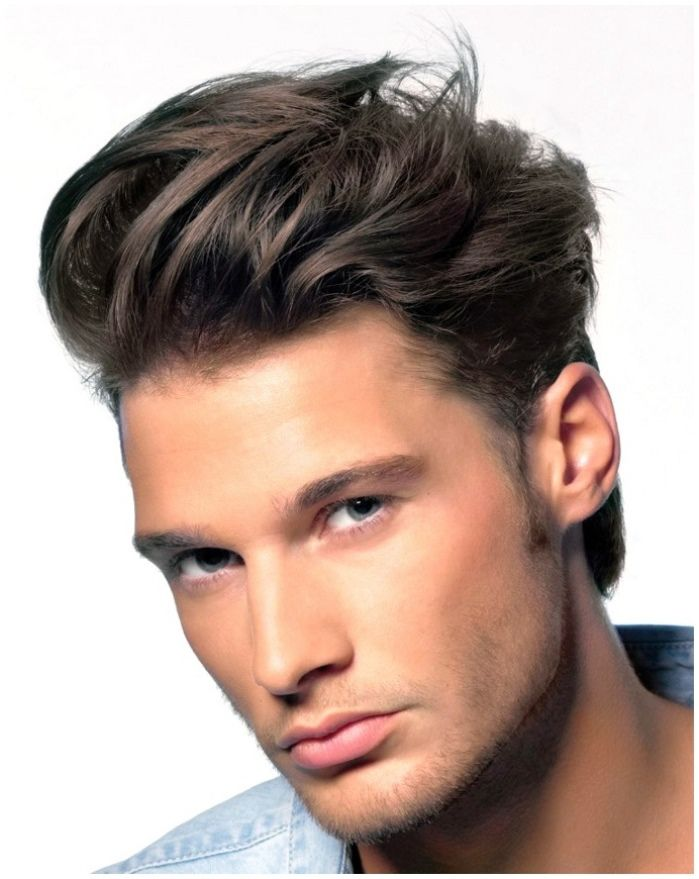 Add a bit of volume to your undercut.   Men's Hairstyles ...