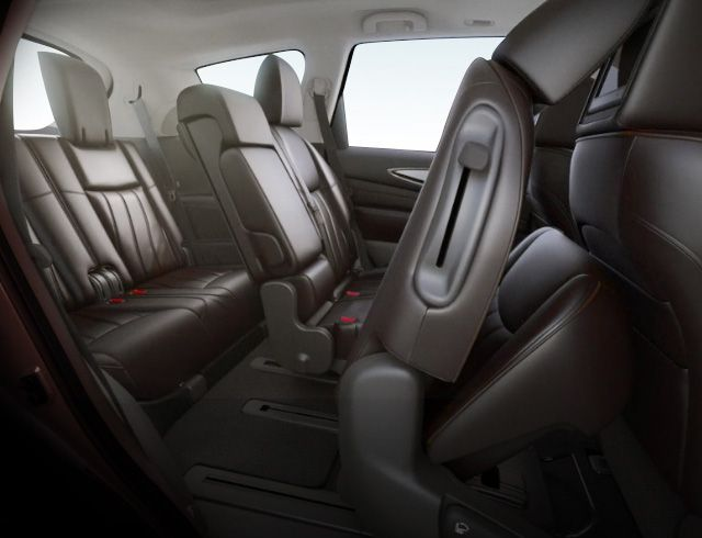 2015 Infiniti Qx60 Crossover Interior Shot Of The Jave