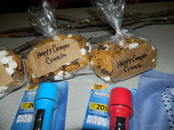 Campfire Party Favors - Golden Grahams/Marshmallows/Choc Chips