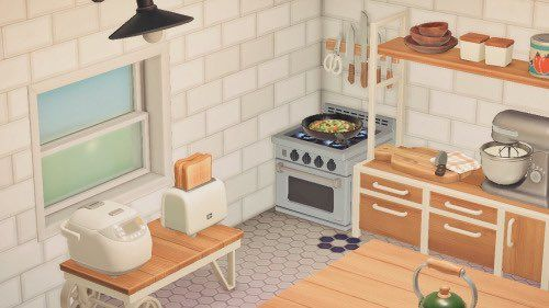 acnh cottage - Twitter Search / Twitter in 2020   Animal ... on Animal Crossing Kitchen Island  id=74215
