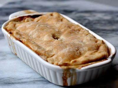 LE BONHEUR EST SANS GLUTEN : Recette sans gluten: tourte (ou pâté) au poulet et légumes