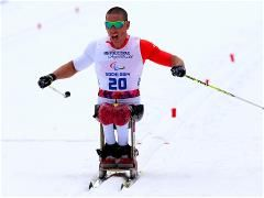 Winners crowned in cross-country sitting races Chris Klebl...GOLD