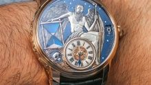 Konstantin Chaykin Lunokhod Prime Watch Hands-On | aBlogtoWatch