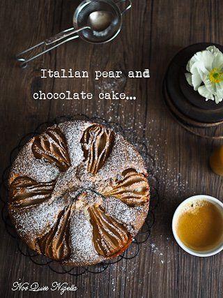 La Dolce Vita: Italian Pear & Chocolate Breakfast Cake