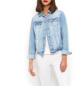 Pale Blue Denim Jacket