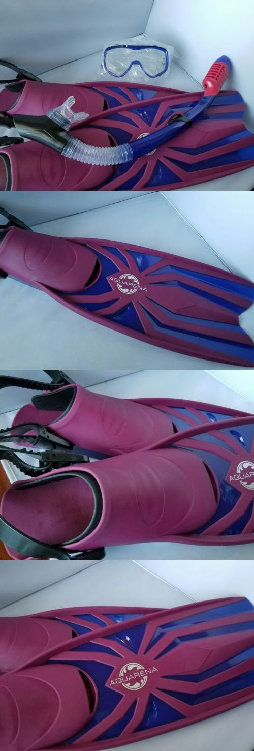 Snorkels and Sets 71162: Snorkel Gear Set Premium Dry Top Snorkel Fins And Tempered Diving Mask BUY IT NOW ONLY: $58.29  http://www.deepbluediving.org/nitrox-guide/