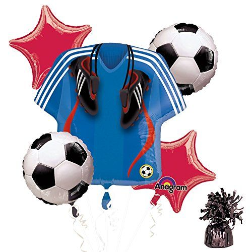 Costume Supercenter BB101308 Soccer Party Balloon Kit ** Want to know more, click on the image.Note:It is affiliate link to Amazon.