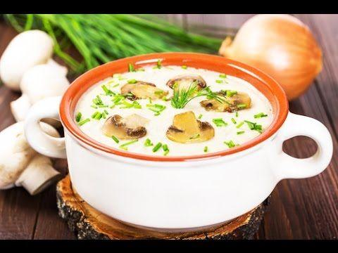 Рецепт очень вкусного супа грибного. Готовим дома легко суп-пюре грибной. Очень легкий диетический суп для всей семьи. Суп за 10 минут. Готовим грибной суп и...
