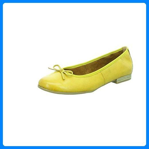 Tamaris Ballerina Größe 41 Gelb (Sun) - Ballerinas für frauen (*Partner-Link)
