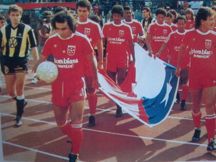 Se venía una de las decepciones más grandes para el América de Cali. Final Libertadores, tercer partido con Peñarol! 1987