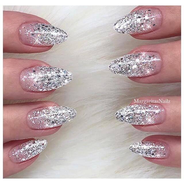 50 fabelhafte Möglichkeiten, Glitter Nails wie ein Boss zu tragen #fabelhafte …