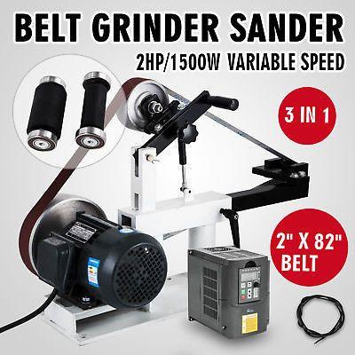 2 x 82 belt grinder, knife making, knife grinder, sander 1.5KW