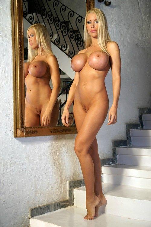 Mature nude birthday suit