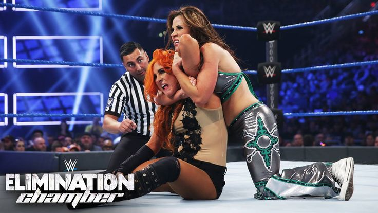"""Will Becky Lynch keep the """"straight fire"""" ablaze and finally get revenge on """"La Luchadora"""" Mickie James at WWE Elimination Chamber on WWE Network?!"""