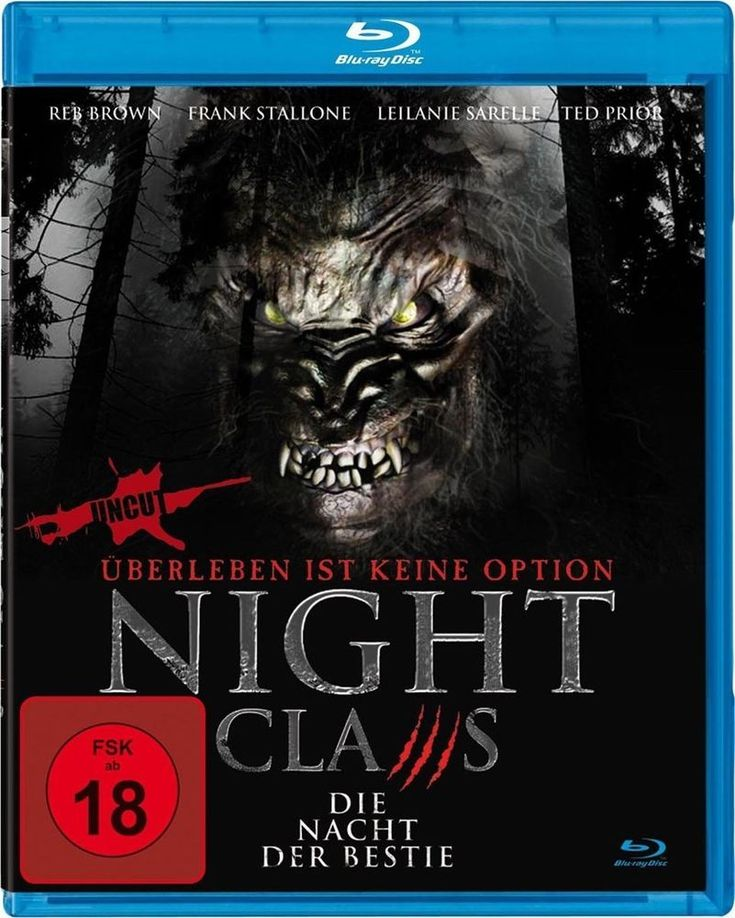 Night Claws - Die Nacht der Bestie ( Horror-Thriller BLU-RAY )mit Frank Stallone