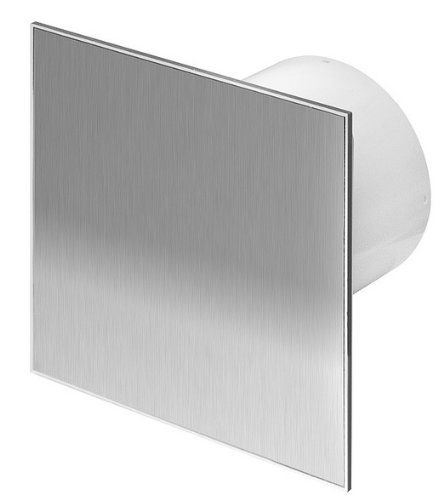 Beautiful Stainless Steel Bathroom Extractor Fan mm Timer W https