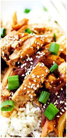 One Pot Easy Teriyaki Chicken Recipe – One pot and about 30 minutes are all you will need for this effortless, yet amazing Teriyaki Chicken recipe.