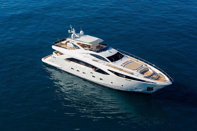 """La """"Barca di Colombo"""": Yacht made in Italy: non solo design! Amer 100 Qua..."""