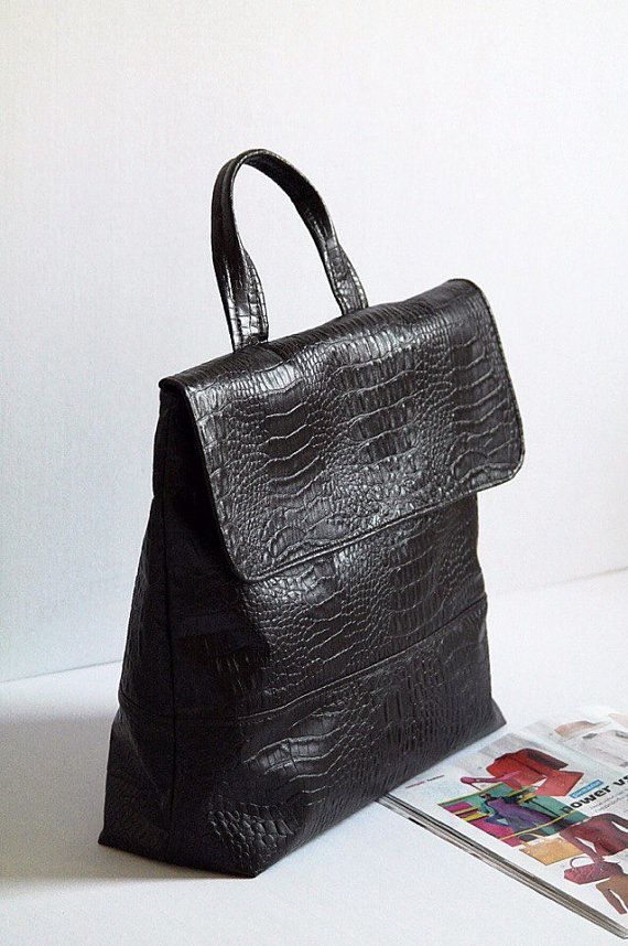 Brown women handbag ready to ship top handle bag brown by OlasBags