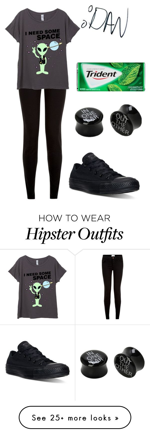 """Untitled #492"" by xxghostlygracexx on Polyvore featuring New Look and Converse"