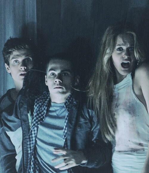 Daniel Sharman, Dylan O'Brien, Gage Golightly, Teen Wolf// I miss them