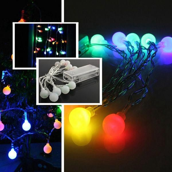 Wholesale Price + Free Shipping #Holiday String Lights 10 LED