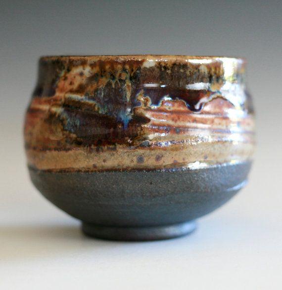Chawan handmade ceramic tea bowl by ocpottery, $30.00 | Etsy.com