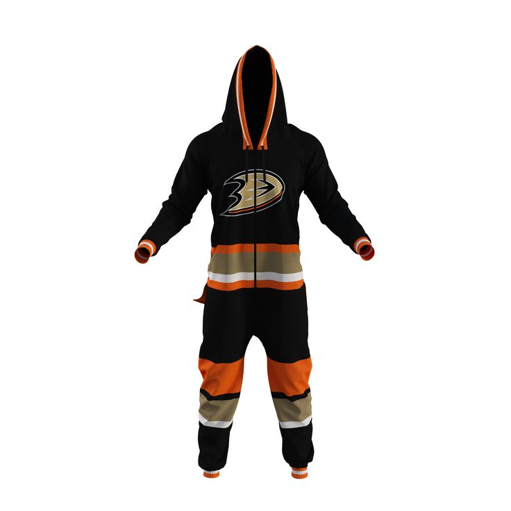 NHL Onesie - Anaheim Ducks - Hockey Sockey