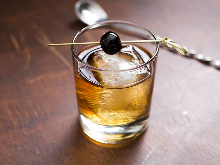 vieux-carre  - another NOLA classic (garnish with a cherry)     1/2 teaspoon Benedictine     1 dash Peychaud's Bitters     1 dash Angostura Bitters     3/4 ounce rye whiskey     3/4 ounce cognac     3/4 ounce sweet vermouth
