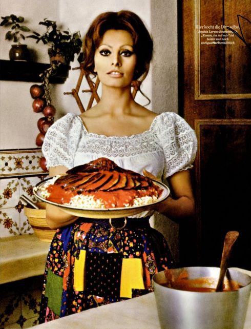 Domestic Goddess: Sophia Loren & Spaghetti al Limone | The Lovage