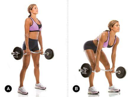 Leg Exercises: Stiff Legged Deadlift!