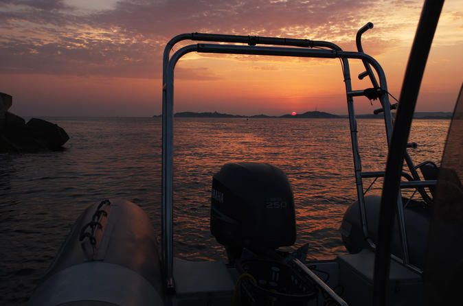 """Small-Group Monte Cristo Sunset Snorkelling Tour from Marseille Snorkeling in Marseille at sunset time! Discover the underwater marine life at sunset time in the """"Parc National des Calanques"""" on a private boat with a wonderful tour close to Chateau d'If, where the Monte Cristo Legend was born.Meet at 7:30pm directly in """"Port pointe rouge"""". Do not forget to take warm clothes such as marine coat and pullover, depending on the weather!Then after 20 minutes you will be at the snor..."""