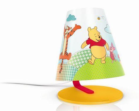 Cute D tsk lampi ka LED lamp winniethepooh children