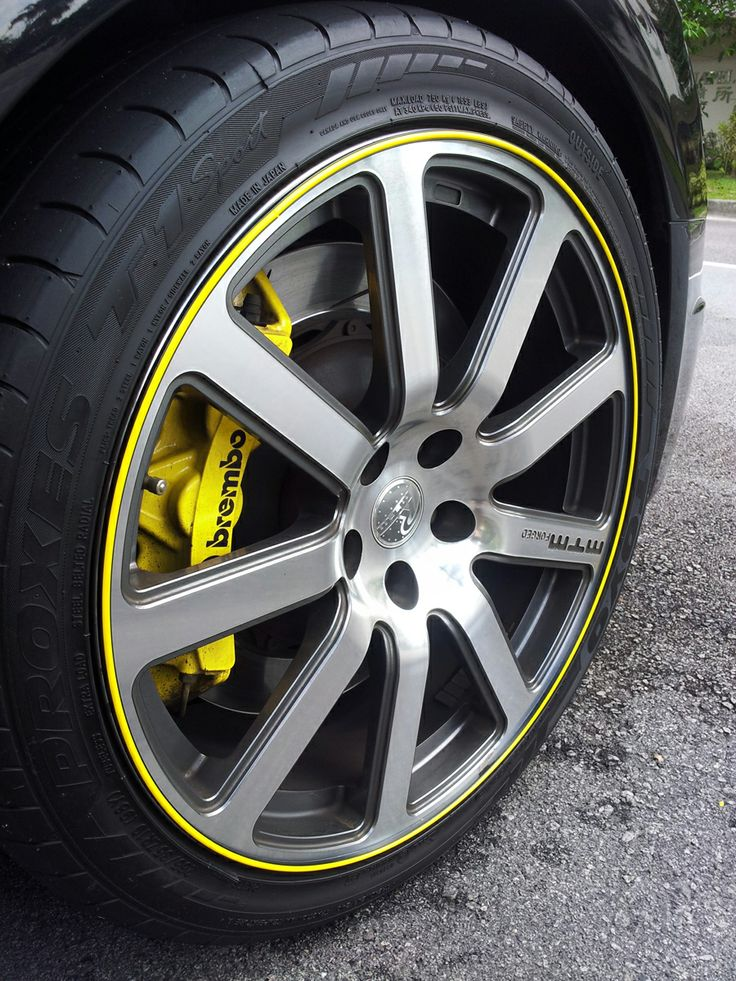 """""""Here are pictures of my Audi A4 with the rim protectors on! Thanks! I love them!""""  — Kenneth (Singapore)"""