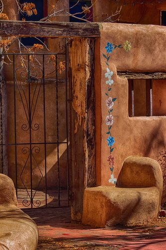Plaza Gate - New Mexico