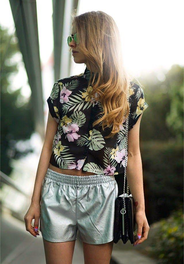 Shorts, Shirt - Tally Weijl