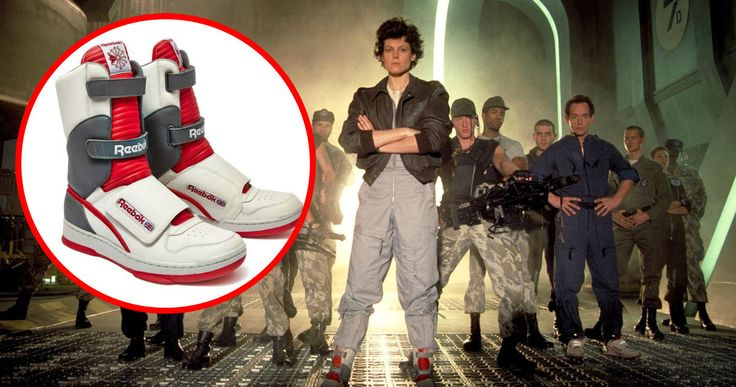 Reebok 'Alien' Stomper Sneakers Available This Spring -- Reebok will re-released the iconic 1986 'Alien' Stomper high-top and mid-top sneakers worn by Sigourney Weaver and Lance Henrikson. -- http://movieweb.com/alien-stomper-sneakers-reebok-re-release-spring-2016/