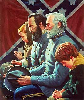 General Robert E. Lee and General Stonewall (T.J.) Jackson