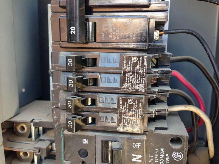 30 Amp Sub Panel Wiring Diagram In 2020 Circuit Breaker Box Breaker Box Dryer Outlet