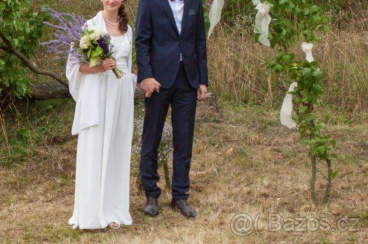 Svatební šaty Boho styl, jednoduché, proměnlivá délka - 1