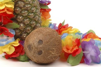 Homemade Luau Party Decorations