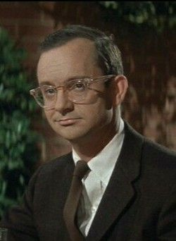 """Wally Cox Actor. He is best remembered for his role of 'Robinson Peepers' in television sitcom """"Mr. Peepers"""" (1952 to 1957), and for his voice characterization of the animated superhero, 'Underdog',1924-1973"""