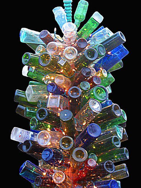 my bottle tree sculpture | Flickr - Photo Sharing!