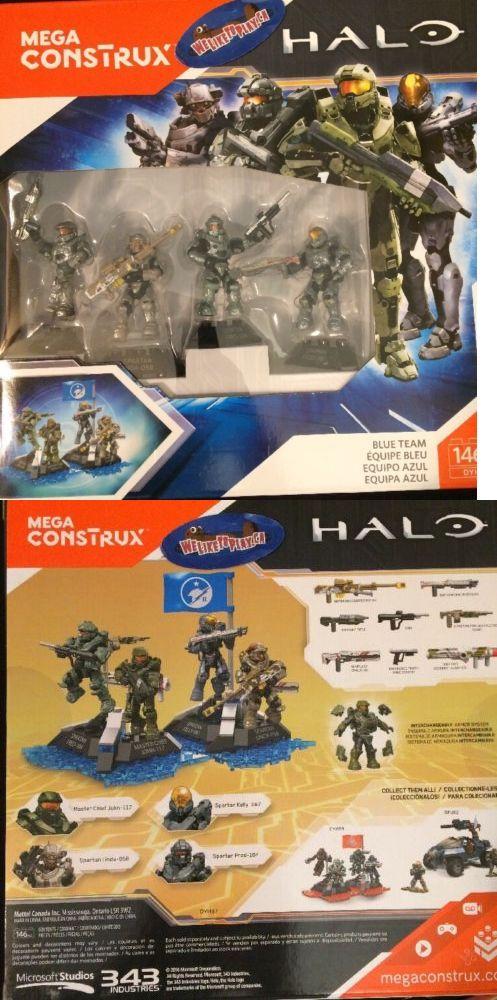 Mega Bloks 52338: Halo Mega Bloks Construx Blue Team Set Master Chief Linda Fred Kelly New In Box -> BUY IT NOW ONLY: $34.88 on eBay!